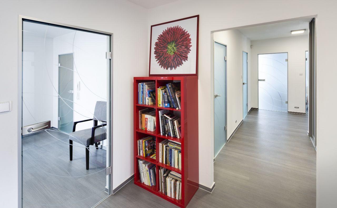 Jednokřídlé otočné dveře 4