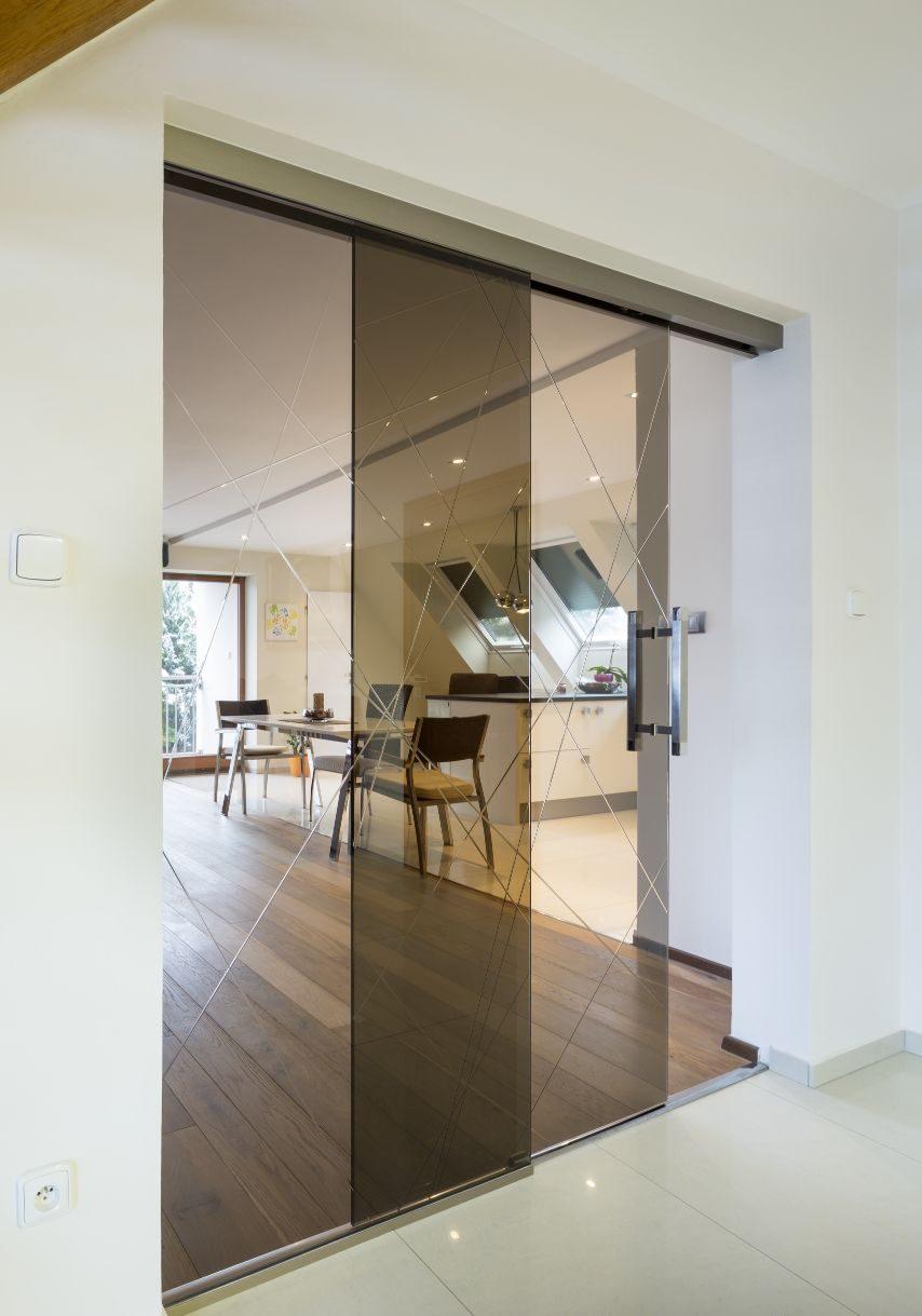 Jednokřídlé posuvné dveře 11