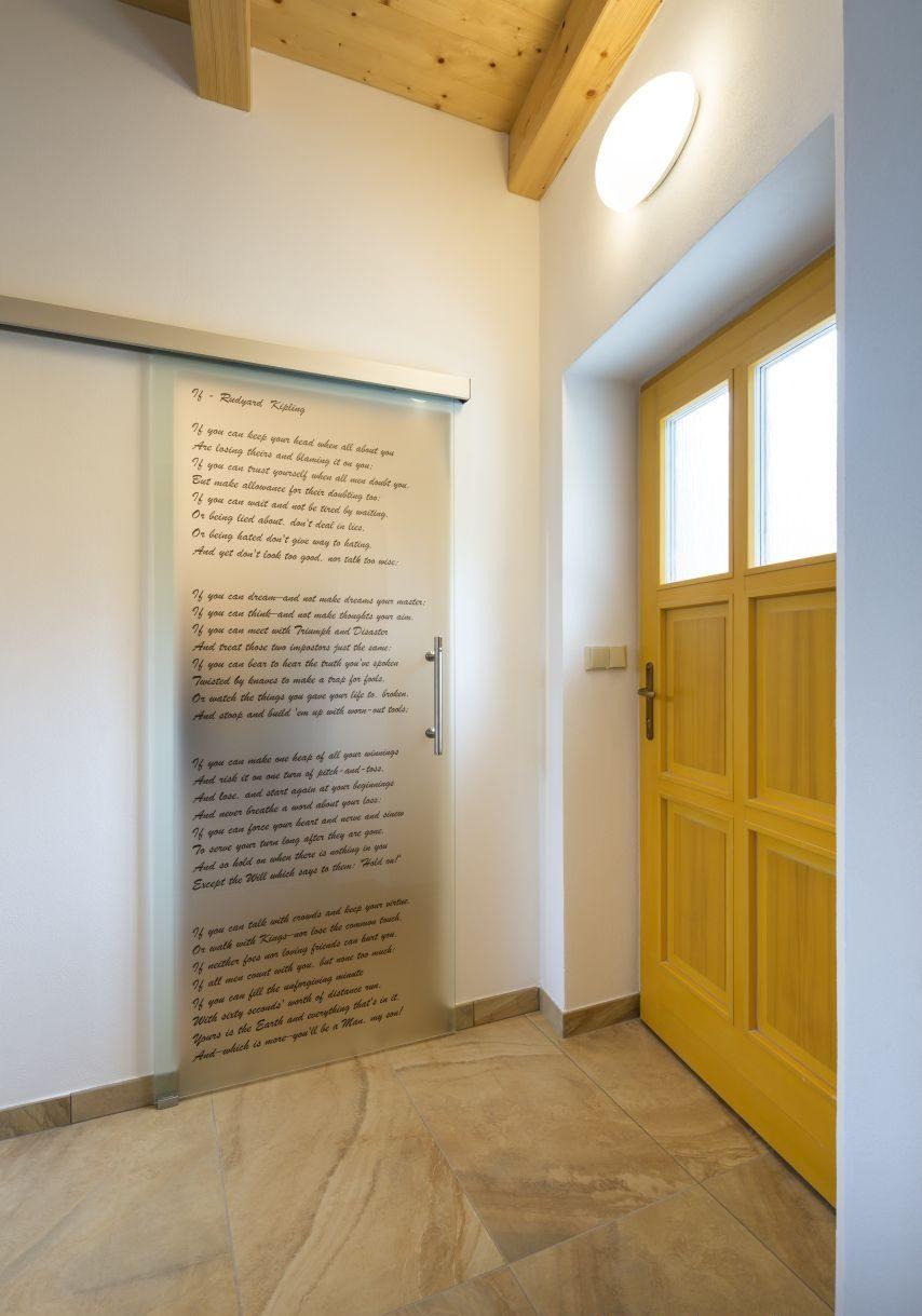 Jednokřídlé posuvné dveře 9