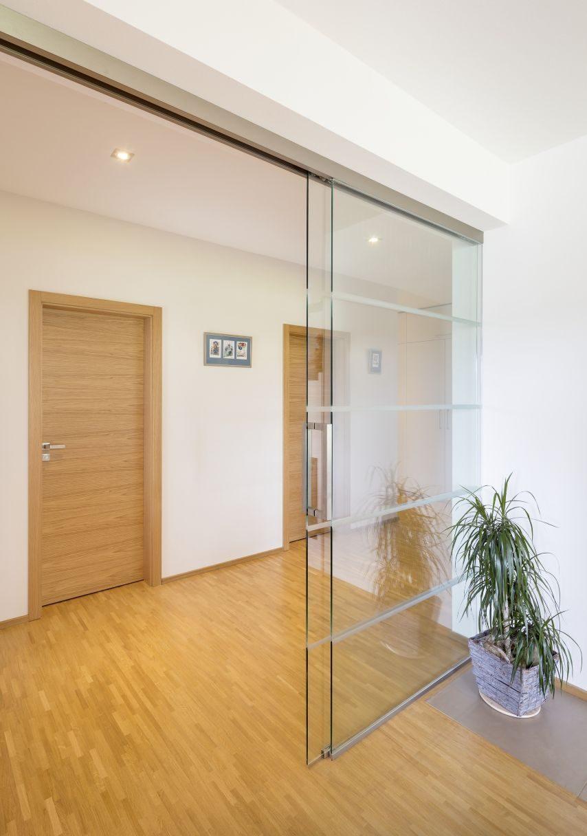 Jednokřídlé posuvné dveře 4