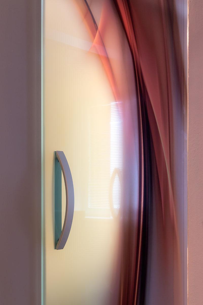 Digitální potisk skla